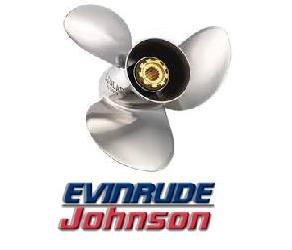 Eliche EVINRUDE & JOHNSON acciaio 3 pale