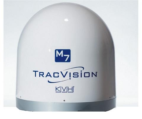 CUPOLA VUOTA ANTENNA TV KVH  - M7