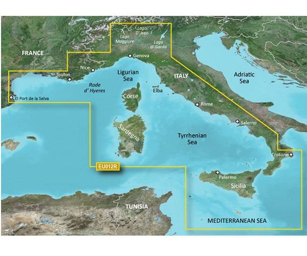 GARMIN CARTUCCIA G2 HXEU012R - Italy, West Coast - REGULAR