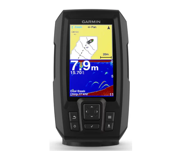 "GARMIN STRIKER™ Plus 4, 4,3"" 200W, CHIRP 50/77/200 kHz"