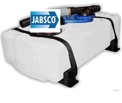 JABSCO SERBATOIO ACQUE NERE LT.41 12V C/SENS.