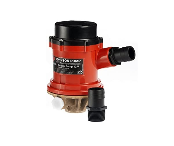 Johnson Pro Series Aerator Pump 1600 GPH 12 V