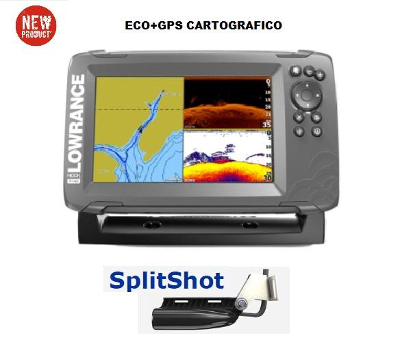 LOWRANCE HOOK2 5 con trasduttore SplitShot