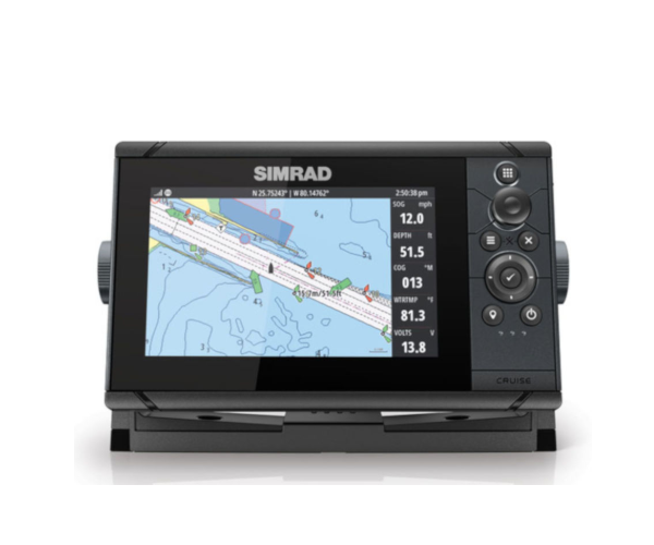 SIMRAD CRUISE-7 ROW BASE CHART 83/200 XDCR