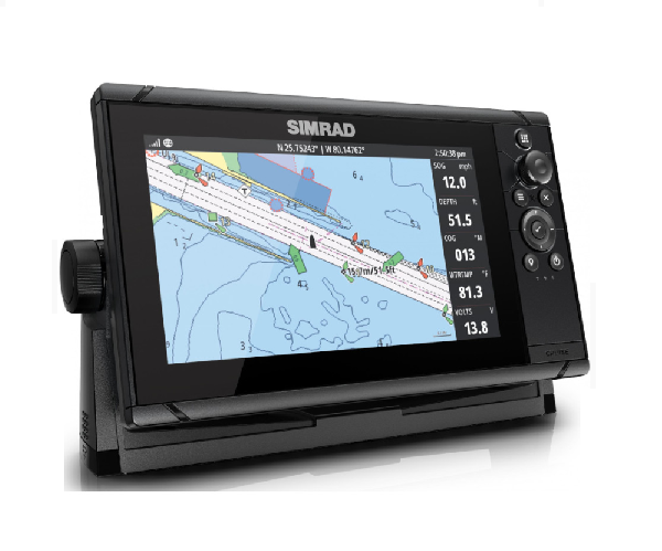 SIMRAD CRUISE-9 ROW BASE CHART 83/200 XDCR