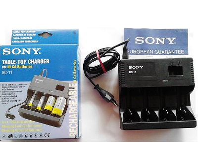 SONY CARICABATTERIE BC-11